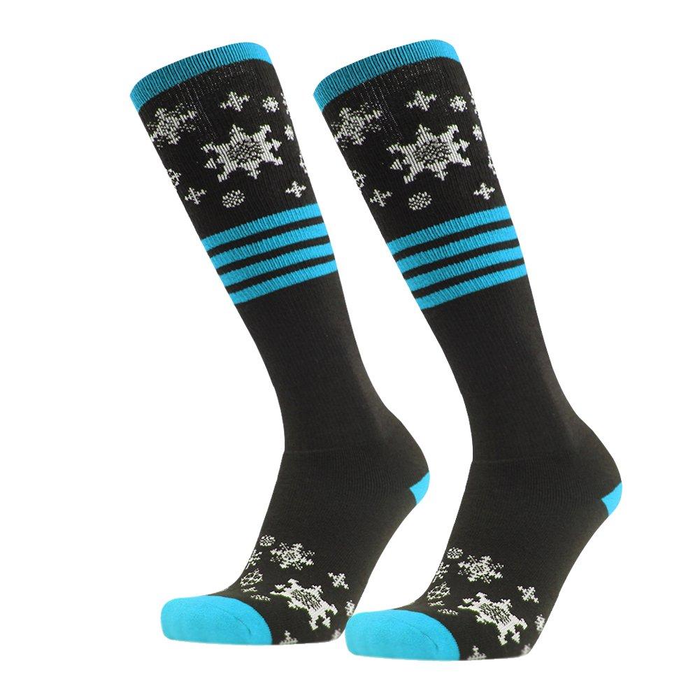 Thick Warm Socks, Gmark Women's Over-the-Calf Tube Socks Knee High Performance Gift Sock Blue