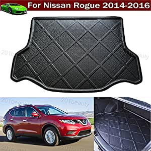 car boot pad liner cargo mat tray trunk floor protector mat for nissan rogue 2014. Black Bedroom Furniture Sets. Home Design Ideas
