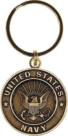 US Army Logo Key Ring Military Emblem Keychain Keyholder Tag Soldier