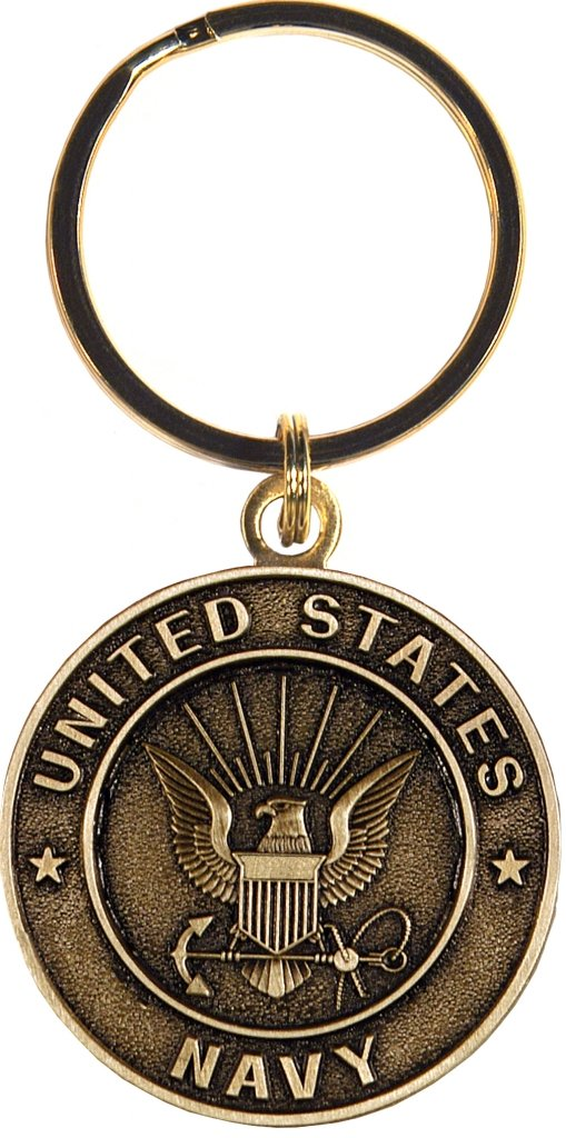 US Navy Keychain Military Products Key Rings Gifts for Servicemen and Veterans