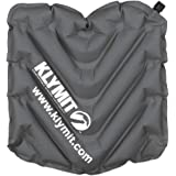 Klymit V Seat, Lightweight Inflatable Travel Cushion, Best for Camping, Bleachers, or Glassing Pad
