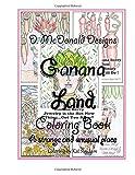 img - for D. McDonald Designs Ganana Land Coloring Book book / textbook / text book