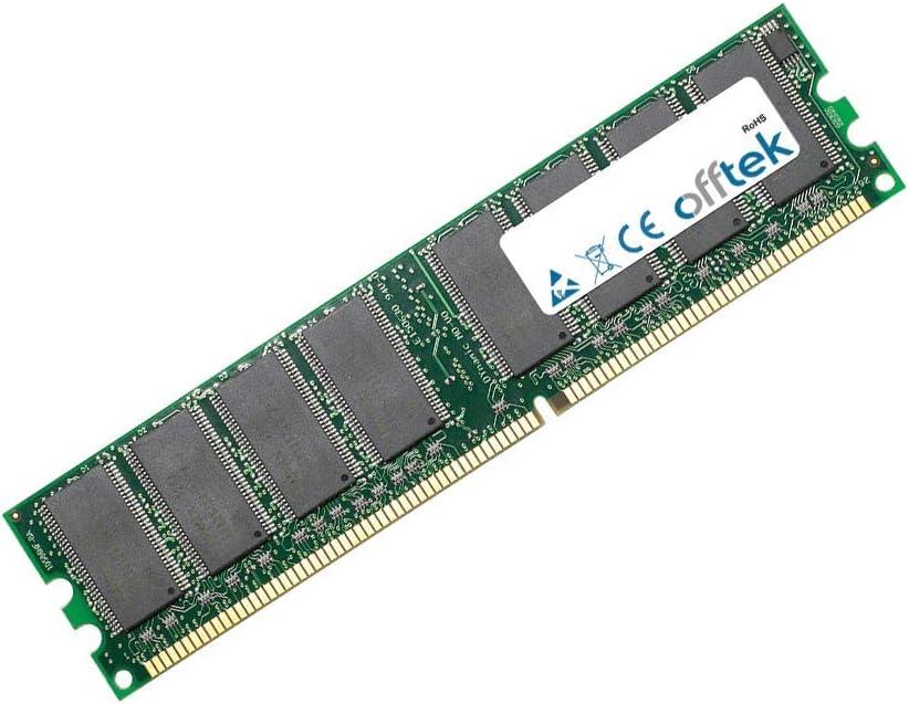 Desktop Memory OFFTEK 512MB Replacement RAM Memory for HP-Compaq Presario SR1160AP PC2700 - Non-ECC