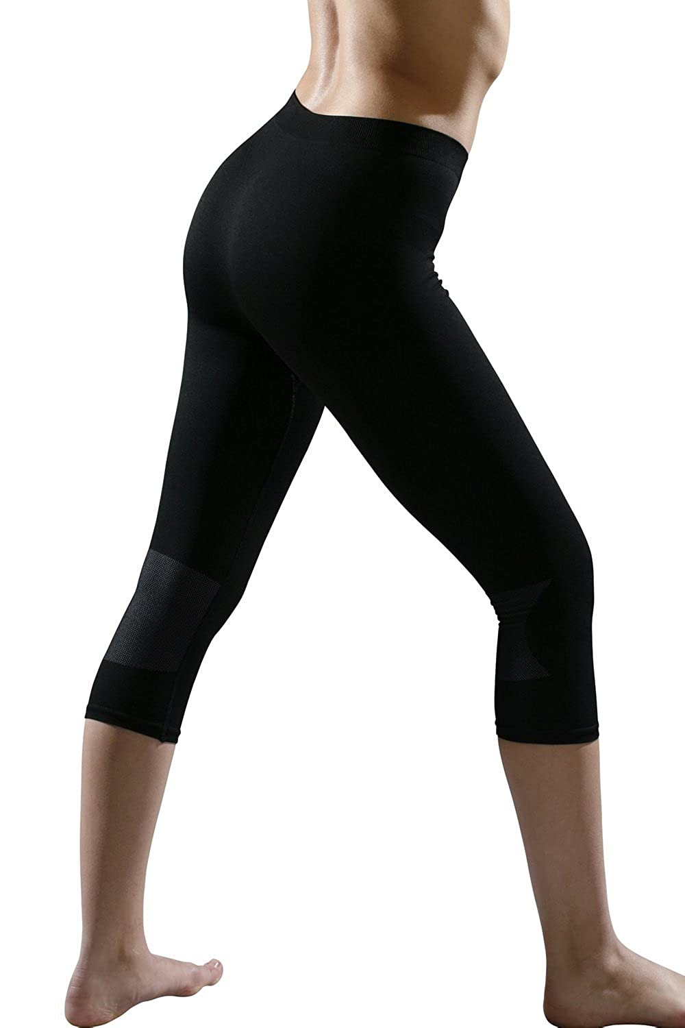 Expedus 3/4 Damen-Funktions-Leggins Flesh-Line