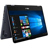 "2018 Newest ST Asus Vivobook Flip 14"" FHD 1920 x 1080 Glossy Touchscreen Display Laptop 