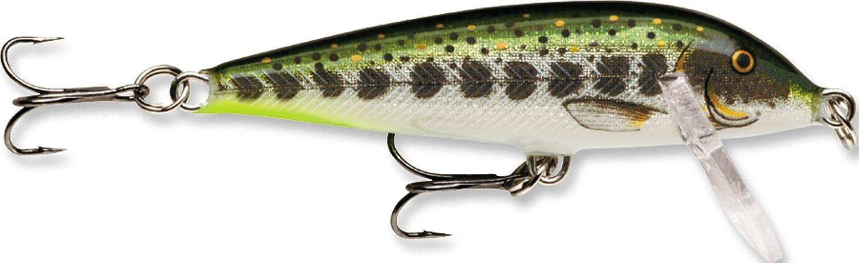 Multi Olive Green Muddler, Size- 3.5 Rapala Countdown 7//16 Oz Fishing Lure CD09OGMD One Size