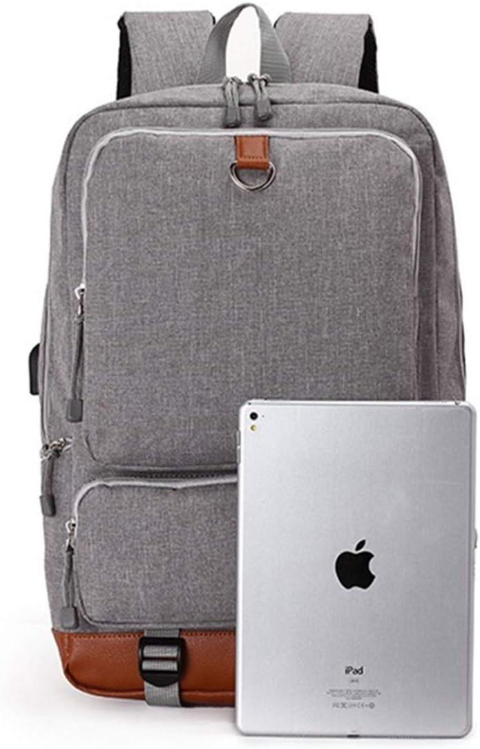 GoBen Kid Boy Girl NASA Canvas School Bag Laptop Backpack-Large Travel Backpack Lightweight School Backpack
