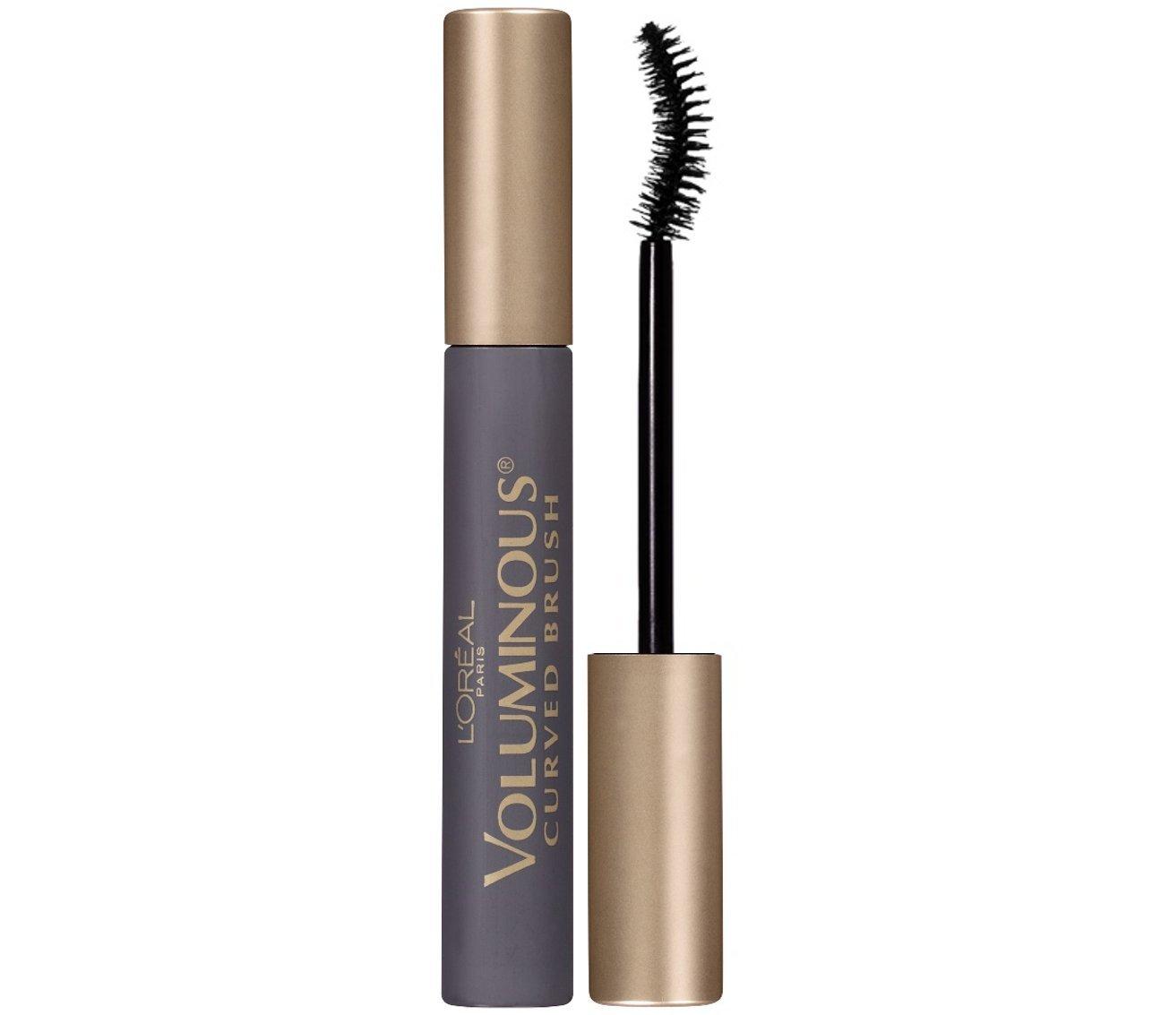 L'Oreal Paris Makeup Voluminous Original Volume Building Curved Brush Mascara, Black Brown, 0.28 fl. oz. L' Oreal Paris Cosmetics boi-opp-klo-uyi4080