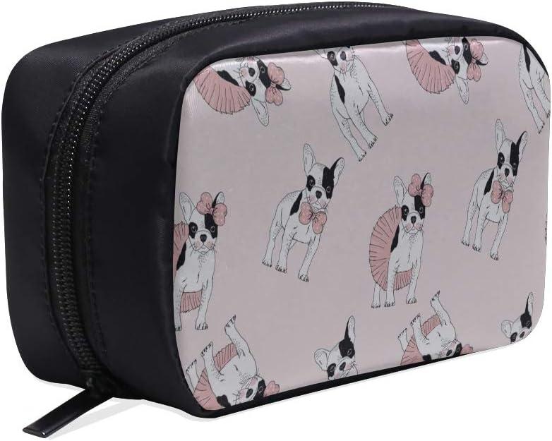 Bolso de aseo colgante Pequeño, divertido, elegante, lindo, animal, mascota, bulldog, bolso de herramientas de moda, bolsos de moda para mujer, bolsos de viaje cosméticos, bolsos de cosméticos, estu
