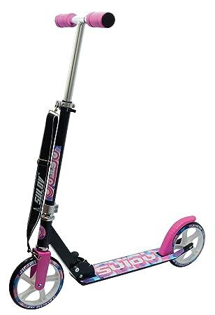 SULOV Patinete de Aluminio Retro Roller ribalto Pink-Schwarz Talla:200 mm