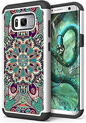 Galaxy S8 Plus Case, Anwish [Creative] Studded Rhinestone Crystal Bling Hybrid Totem Armor Defender Protective Case Cover for Samsung Galaxy S8 Plus from Anwish