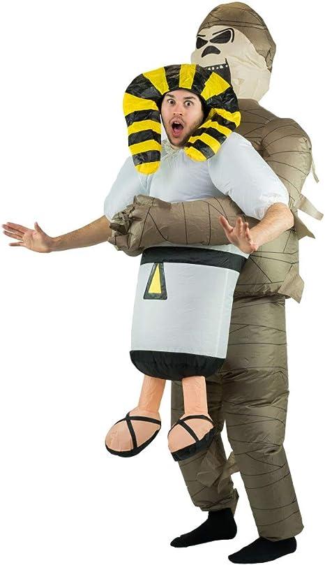 Bodysocks® Disfraz Hinchable de Momia Adulto: Amazon.es: Juguetes ...