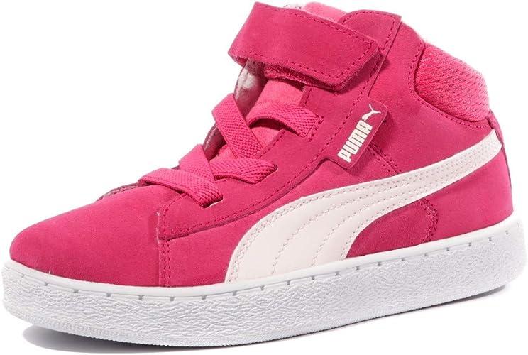 puma chaussure rose