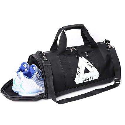 7ccad7370ae7 Amazon.com: Techecho Sports Gym Bag Sports Bag Fitness Training Bag ...