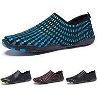 Madaleno Chaussures Aquatiques Homme Femme Chaussures d'eau Chaussures de Plage Chaussures de Yoga Plongée Surf Piscine Sport Aquatique