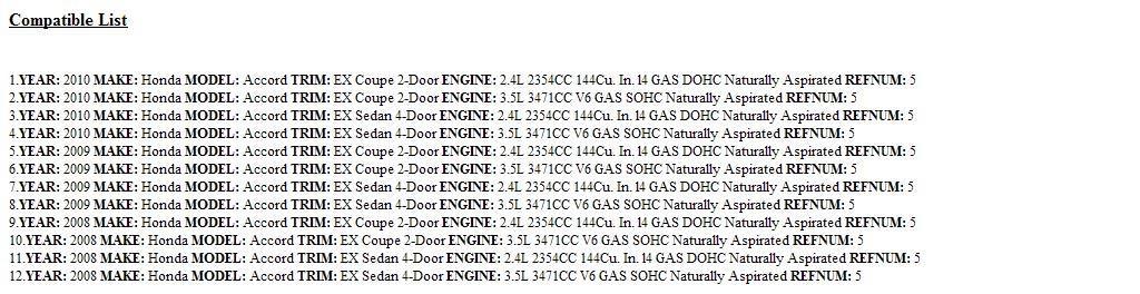 Front Honda Genuine 81140-TA6-A41ZD Headrest Assembly