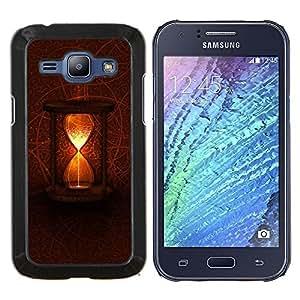 LECELL--Funda protectora / Cubierta / Piel For Samsung Galaxy J1 J100 -- Tiempo Místico --