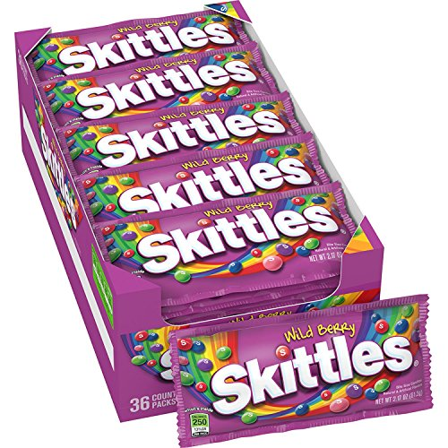 Skittles Wild Berry Candy, 36-Count Packages (Pack of 36)