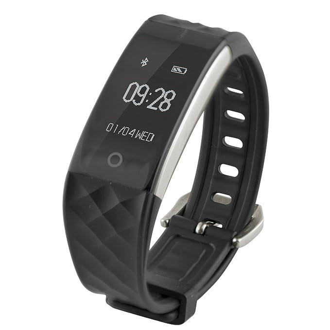 Ksix Fitness Band HR - Pulsera de Actividad con Monitor Deportivo y ...