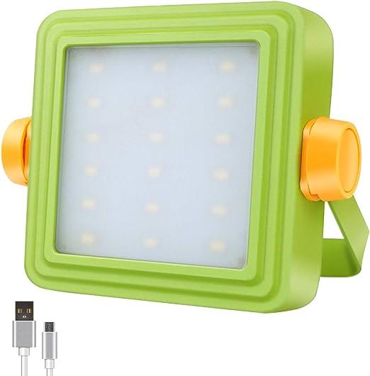 Foco Proyector LED Portátil GOSUN, Luz de Trabajo Recargable para ...