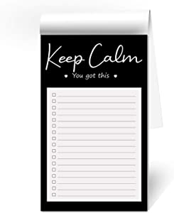 """ORMAT To do list notepad to do list planner daily to do list pad magnetic to do list for fridge cute funny to do list notepad 50 pages 4.5"""" x 7.5"""" with Magnet"""