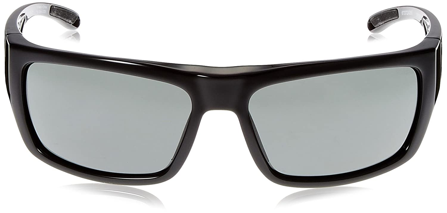 0cef711d259ca Amazon.com  Spy Optic Rover Square Sunglasses Black Ansi Happy Gray Green  1.5 mm  Spy  Clothing