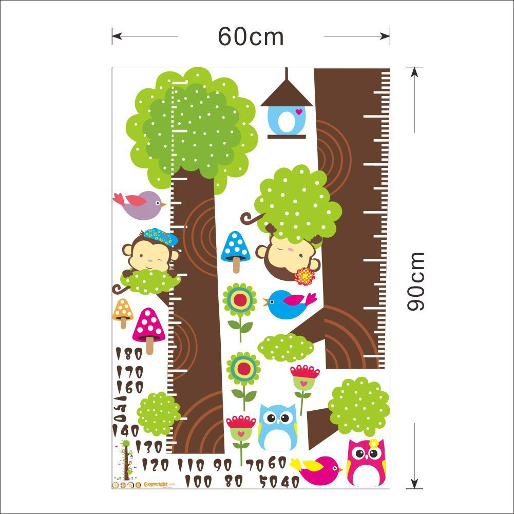 Waterproof Green Dinosaur Stckers for Kids Room Decoration Wall Stickers CD003