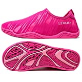 AMAWEI Quick Dry Water Shoes Boys Girls Kids Rubber Sole Slip-on Beach Sports Aqua Sneakers