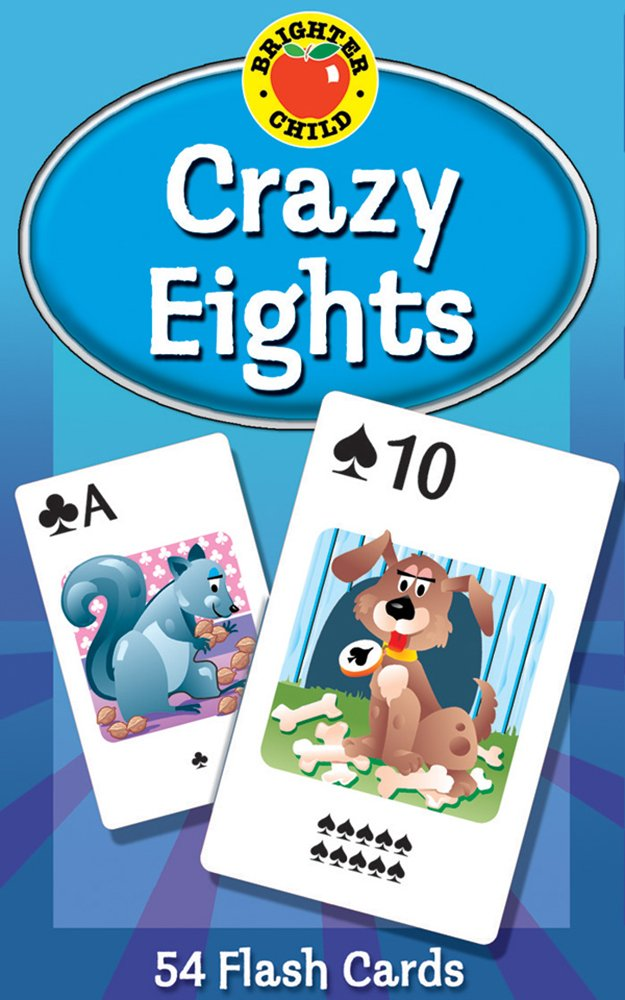 crazy eights card game school specialty publishing cor