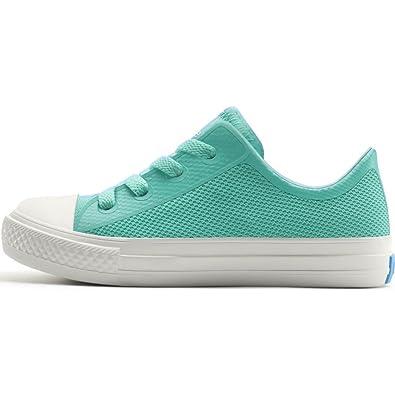 Poolside Green//Picket White Size J2 People Footwear Phillips Junior Shoes