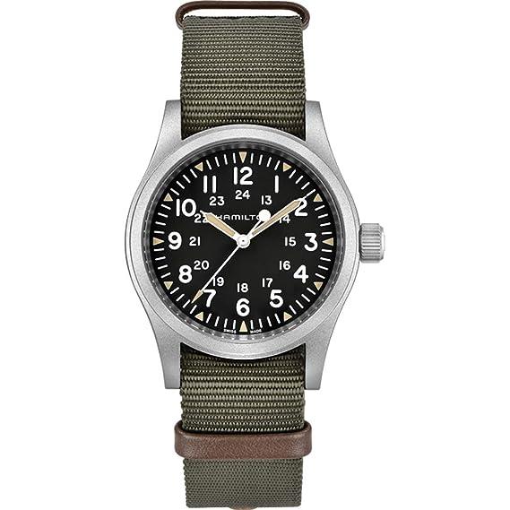 superior quality 92699 a0243 [ハミルトン] 腕時計 カーキ フィールド メカ H69429931 メンズ 正規輸入品 ブラック