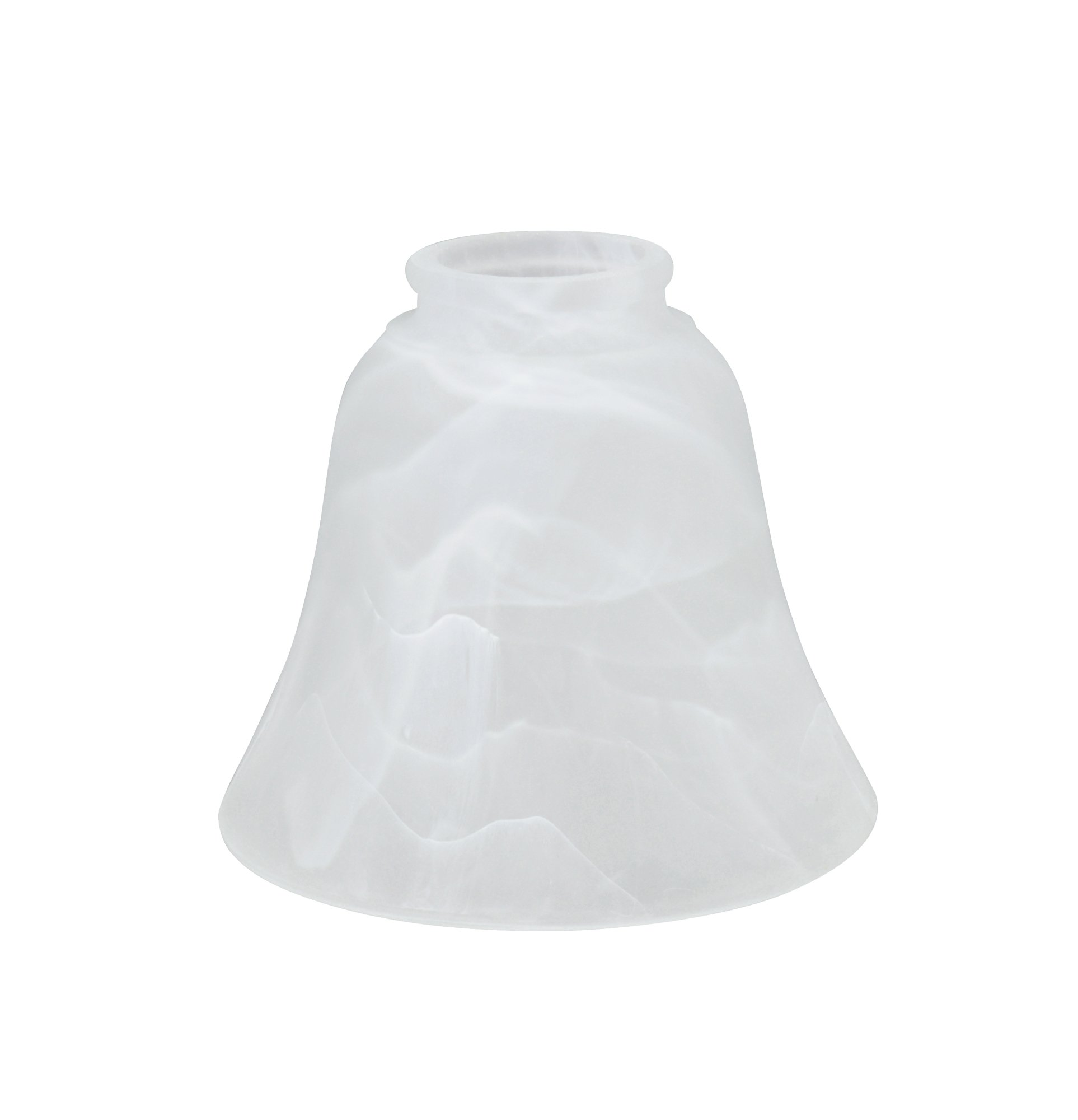 Aspen Creative 23027-4 Transitional Replacement Glass Shade, Alabaster by Aspen Creative (Image #2)