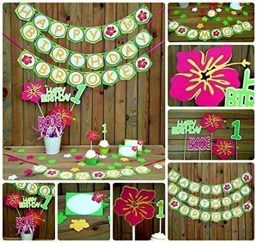 Amazon Com Luau Birthday Party Package Hawaiian Decorations