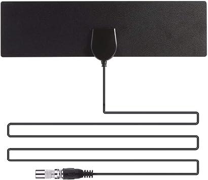 Antena HDTV para antena de TV para interiores, alcance de 50 millas, compatible con antena 4K