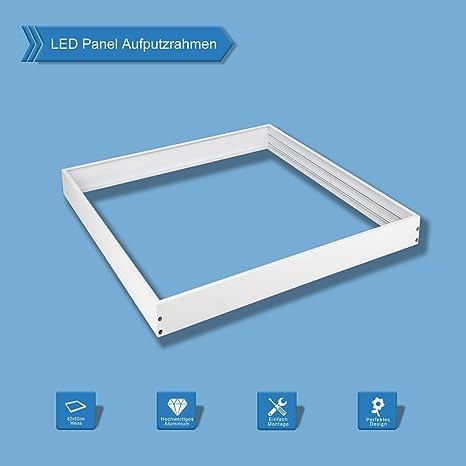 Favorit LED Panel Rahmen Aufputz 62x62 Deckenrahmen für Wand- und WR07