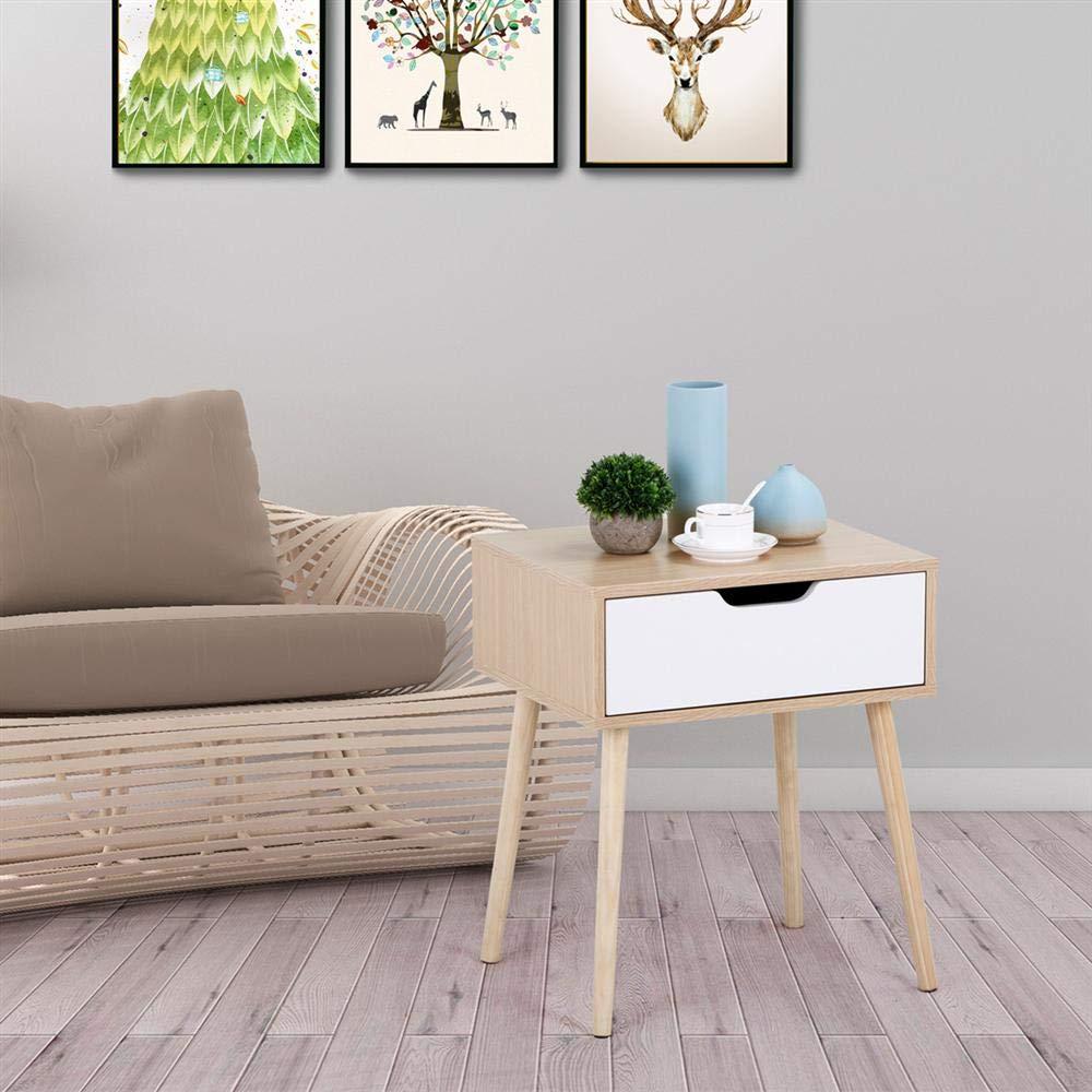 Amazon.com: yaheetech acento de madera patas curvadas ...