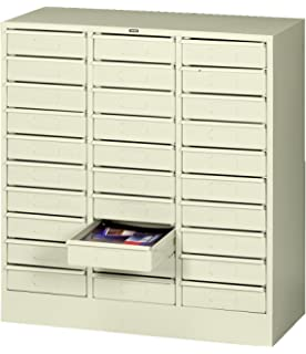 Tennsco 3085 Steel Legal Size Thirty Drawer Cabinet, 31