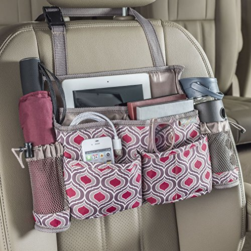 - High Road SwingAway Patterned Car Front Seat Organizer (Sahara)