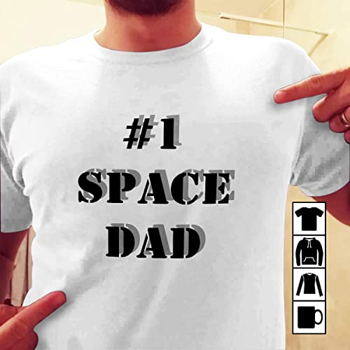 40e9031dc Amazon.com: Voltron T-Shirt Space Dad is the best dad: Handmade