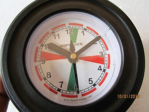 5011A BOAT SHIP/'S Clock NAUTICAL Marine RADIO ROOM Clock MARITIME