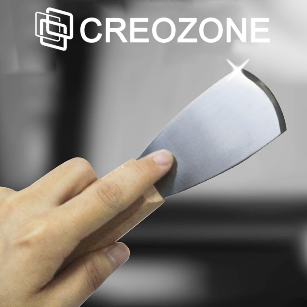 Creozone 3D Printer Tool 3D Print Removal Tool Steel Spatula, Professional 3D Printer Accessories