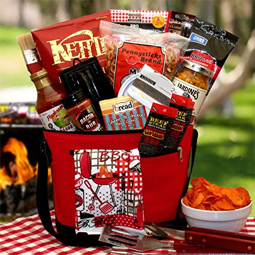 Grill Master Gourmet Grilling BBQ Gift Basket by Organic Stores