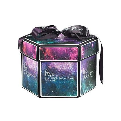 Creative Explosion Caja de regalo, Love Memory DIY Álbum de ...
