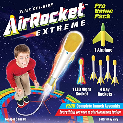 Rocket Fireworks (Skylight Air Rocket Extreme Pro Value Variety Pack # 105)