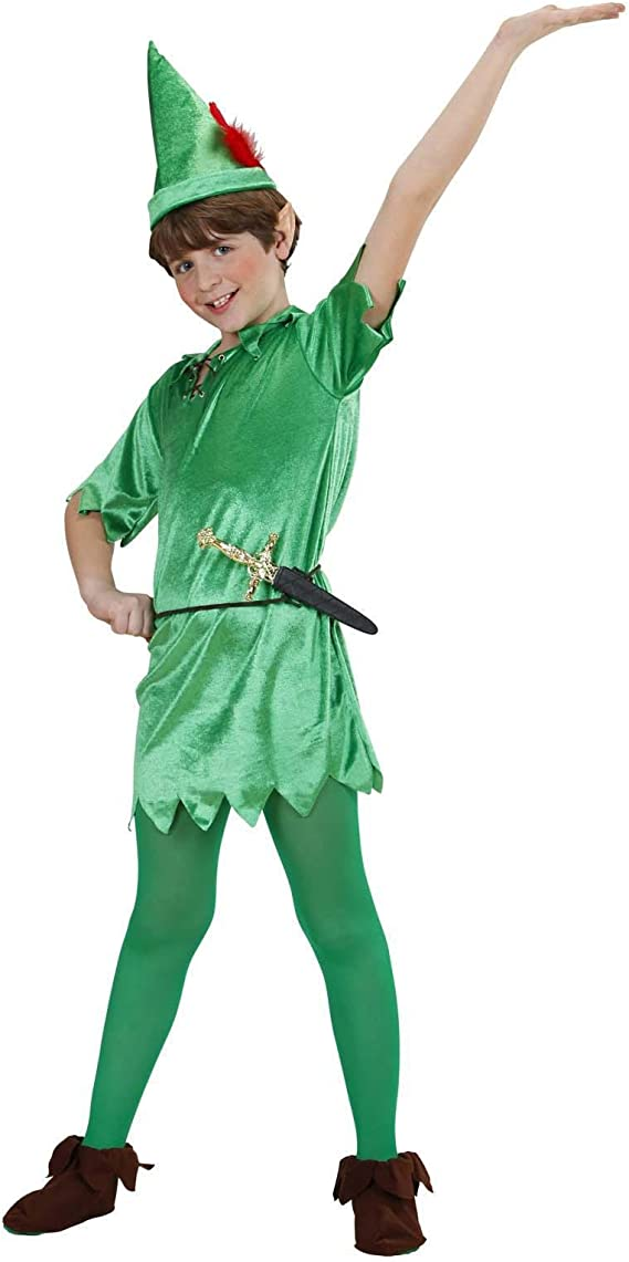 WIDMANN disfraz de Peter Pan, talla para niños de 11/13 años ...