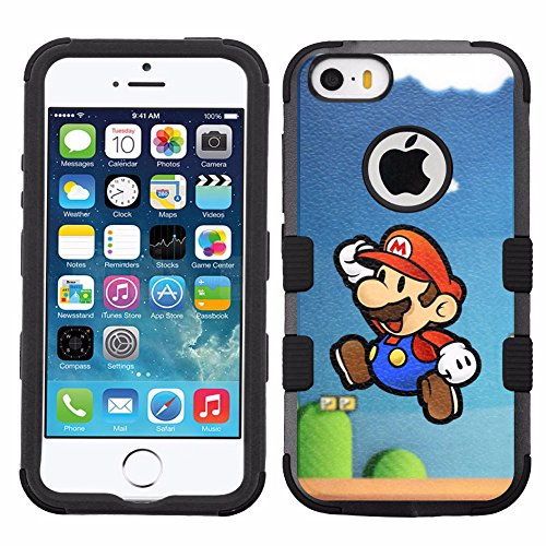Super Mario Hard Case for iPhone SE/5S/5 - 1