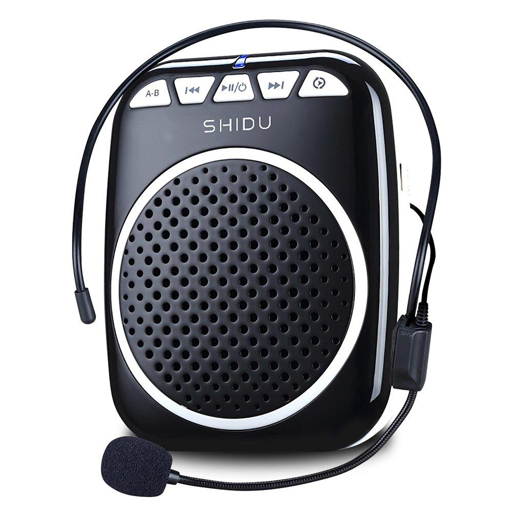Recbot Amplificador de voz portátil ultraligero con micrófono para profesores guías presentaciones