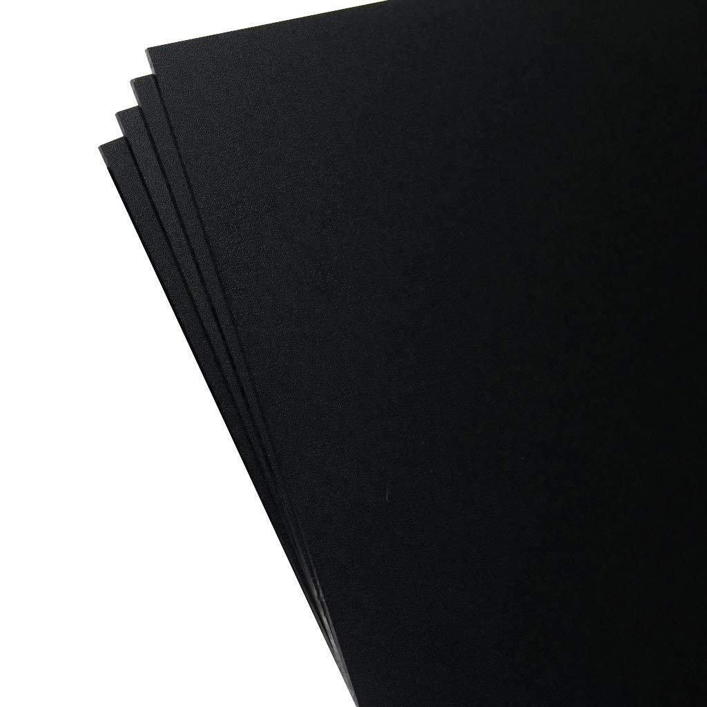 0.118 Thick 2 Pack KYDEX Sheet Black 12 x 12