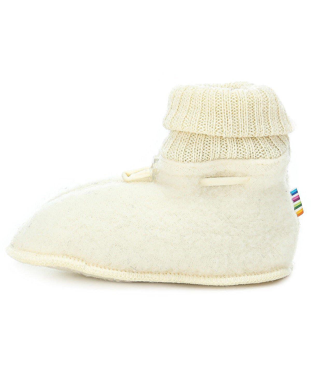 Double Layer Merino Wool Fleece Baby Booties Joha fizzle-wool Sleeping booties