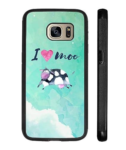 Amazoncom Barn Smile Iphone Case Samsumg Case I Love Moo Cow